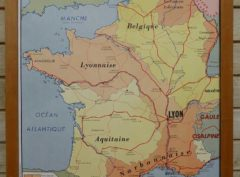 French school maps - Roman Gaul