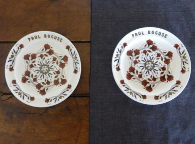 Paul Bocuse pair of plates