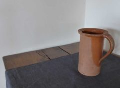 earthenware jug - brown