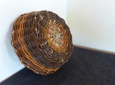 small rustic basket no. 6