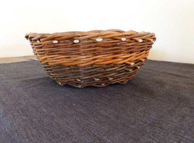 small rustic basket no.6