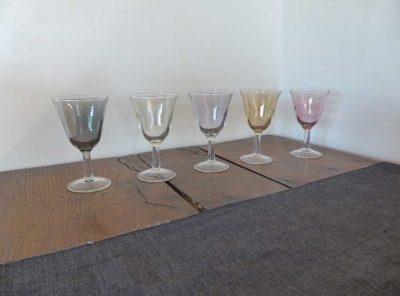 5 glasses