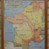 French school maps - Roman Gaul