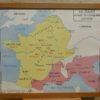 French school map - Gaule