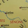 French school map-detail