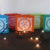 festive cards colours