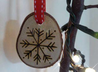 festive decorations detail