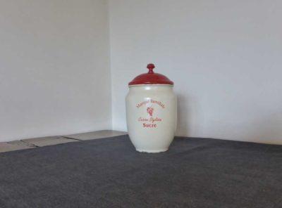 vintage sugar tin
