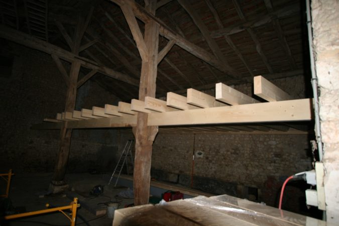 barn floor