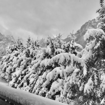 chatel in the snow